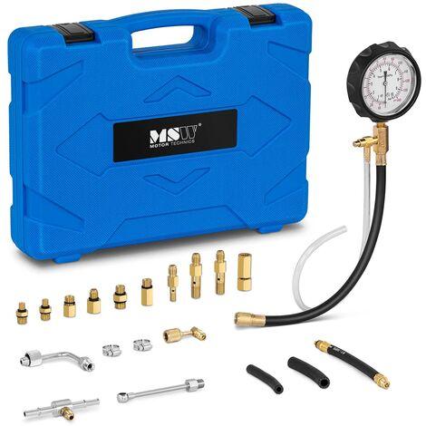 Testeur De Compression Cylindre Compressiomètre Moteur Essence Coffret 0-140 psi