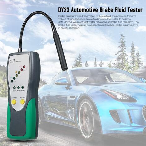 Testeur de liquide de frein DY23 Testeur d'humidite de stylo de test de liquide de frein de voiture