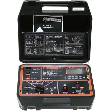 Testeur de machines MT 204-S Beha Amprobe 9085 LCD Catégorie de surtension CAT III 440V, CAT IV 300V