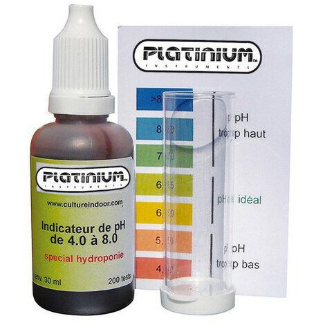 Testeur de pH liquide - Test pH Kit 200 tests - Platinum Instruments