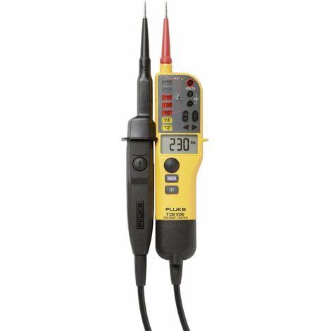 Testeur de tension à 2 pôles Fluke FLUKE-T130 4016961 CAT III 690 V, CAT IV 600 V Acoustique, LCD, LED, Vibration 1 pc(s)