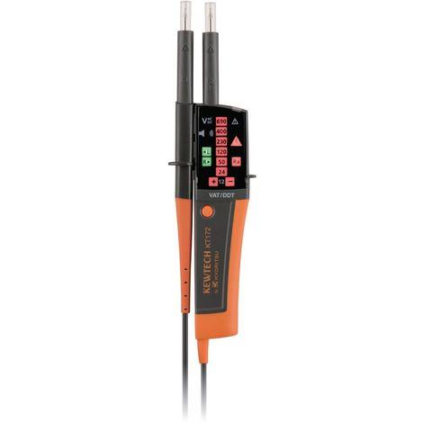 Testeur de tension IP2X VAT/DDT avec lampe torche Réf 09170143