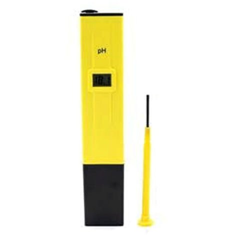 Testeur d'eau Testeur de valeur pH Testeur de compteur d'eau Jaune de chlore Valeur de pH Compteur piscine d'aquarium Valeur pH 0-14