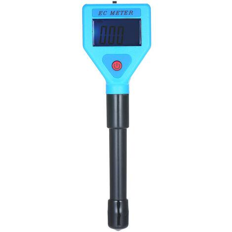 Testeur EC Testeur de conductivite de qualite de l'eau EC Meter Livre sans piles