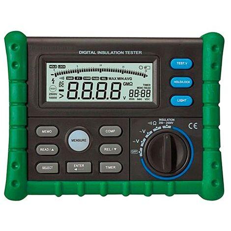 testeur, mesureur d'isolement multifonction méga-ohmmètre - TES205 - D-Work - -