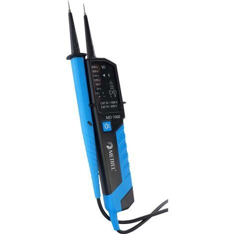Testeur Metrel MD 1060 12 à 690 V AC / V DC CAT III 1000 V, CAT IV 600 V Affichage:LED Y588881