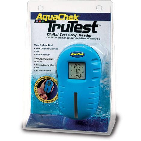 Testeur piscine aquachek trutest bleu + 25 languettes
