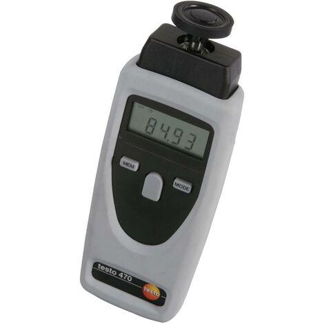 Testo 0563 0470 Drehzahlmesser optisch, mechanisch 1 - 19999 U/min 1 - 99999 U/min Q57713