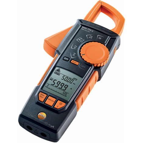 Testo 0590 7703 770-3 TRMS Clamp Meter with Bluetooth