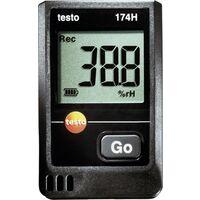 Testo 174H Multi-Datenlogger Messgröße Luftfeuchtigkeit, Temperatur -20 bis +70°C 0 bis 100% rF Q79199