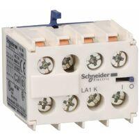 TeSys CA - bloc de contacts auxiliaires - 4F+0O - bornes à vis-étriers - LA1KN40