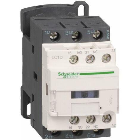 TeSys D contacteur LC1D 3P AC3 440V 9A bobine 400Vca - LC1D09V7