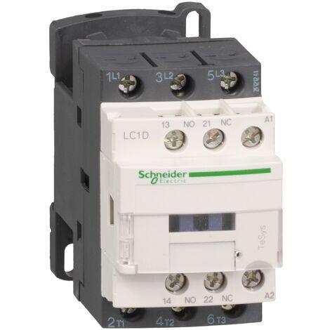 TeSys LC1D - contacteur - 3P - AC-3 440V - 9A - bobine 110Vca - LC1D09F7