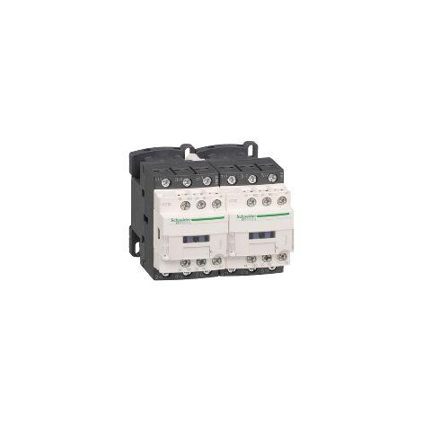 TeSys LC2D - contacteur inverseur - 3P - AC-3 440V - 32A - bobine 230Vca - LC2D32P7