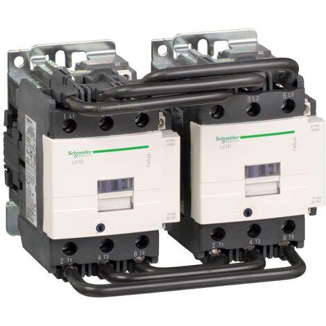 TeSys LC2D - contacteur inverseur - 3P - AC-3 440V - 80A - bobine 230Vca - LC2D80P7