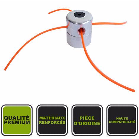 Tête à 4 fils universelle en alu 2.4mm ø Silex® pour débroussailleuse thermique
