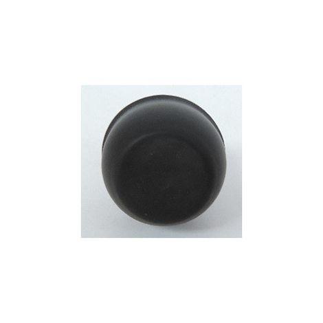 Tête à impulsion non lumineuse affleurante capuchonnée IP67 Osmoz composable - noir LEGRAND 023813