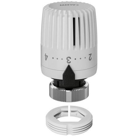 tête contrôle thermostatique pour radiateur caleffi 199000   blanc