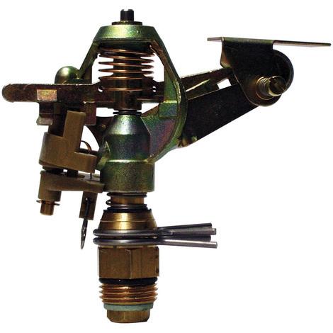 """Tête cracheur rotatif métal à secteur réglable - Filetage 1/2"""" - 450m²"""