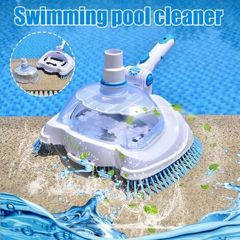 Tête d'aspiration d'outil de nettoyage de piscine Tête d'aspiration transparente Multicolore - Multicolore