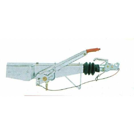 Tête d'attelage freinée AL-KO 90S fixation monopoutre section: 60 mm
