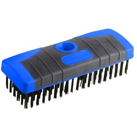 Tête de balai-brosse acier détachable 6 rangs