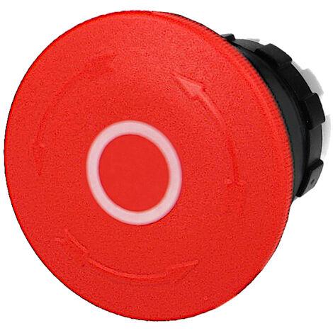 Tête de bouton d'arrêt d'urgence à accrochage IMO Ø22mm
