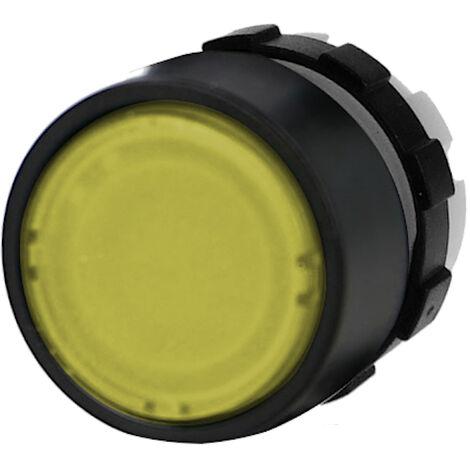 Tête de bouton poussoir lumineux IMO Ø22mm jaune
