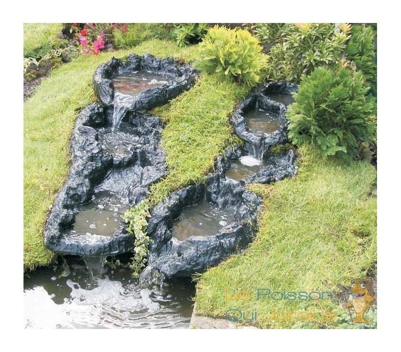 Tête de cascade 65 cm décoration pour bassins de jardin et étangs