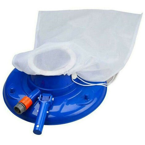 Tete de decontamination d'outil de nettoyage de piscine en forme de disque