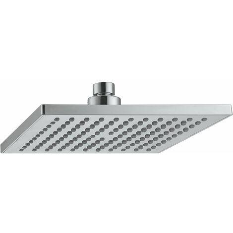 Tête de douche carrée ABS Damast Petalo 20Q 13931 | Chromé