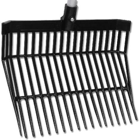 Tête de fourche à copeaux plastique DIVERS - 01-Noir WALDHAUSEN