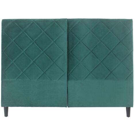 Tête de lit Apolline 160cm Velours Vert - Vert