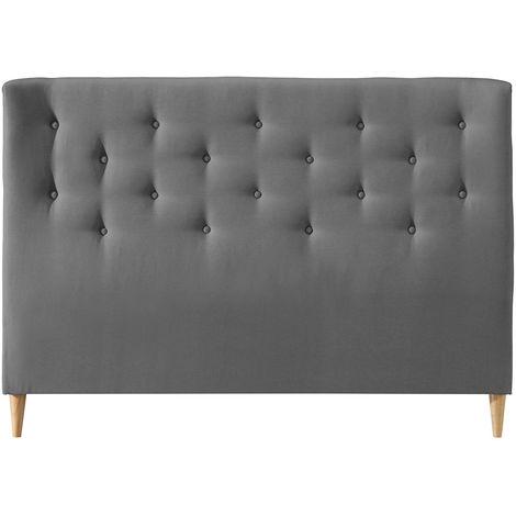 Tête de lit capitonnée en tissu 170 cm EROS