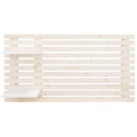 Tête de lit en bois baguettes 244x60cm