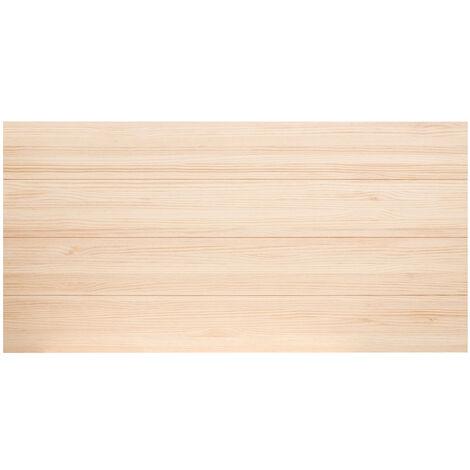 Tête de lit en bois naturel 200x80cm