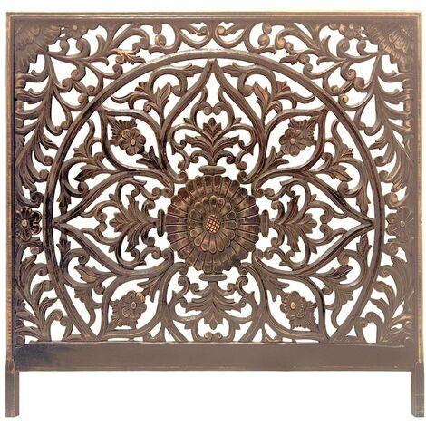 Tête de lit Menara 140cm Bois Bronze - Bronze