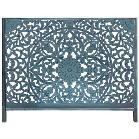 Tête de lit Menara 180cm Bois Bleu - Bleu