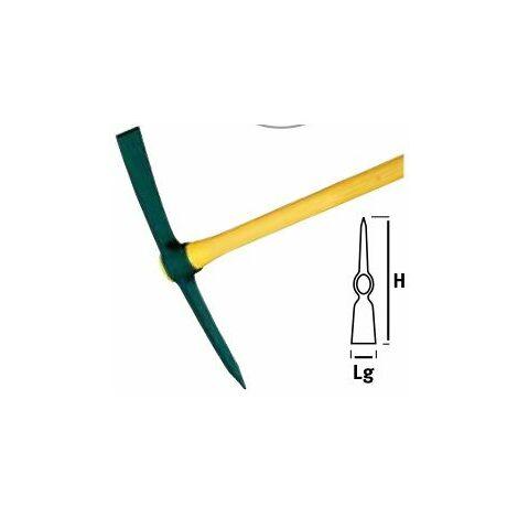Tête de pioche terrassier Douille ovale SANS MANCHE - 2/ 2.25/ 2.5 kg