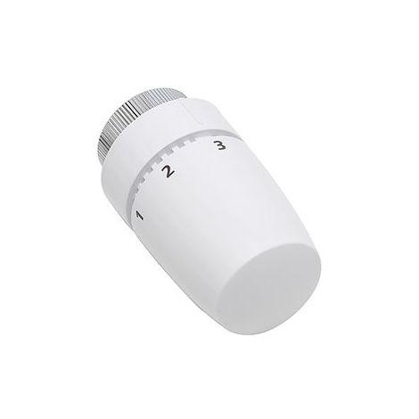 Tête de radiateur thermostatique design coloris blanc NOYON & THIEBAULT