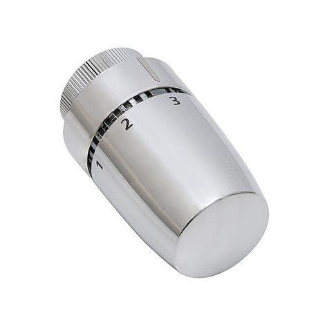 Tête de radiateur thermostatique design coloris chromé NOYON & THIEBAULT