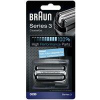 Tête de rasoir Braun 32B noir