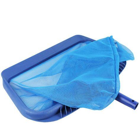 Tête d'épuisette de fond premium bleu pour piscine adaptable sur manche standard ou télescopique - Linxor