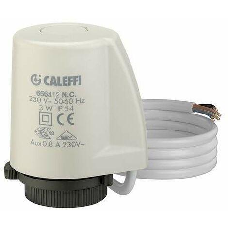 Tête électrothermique avec indicateur de position d'ouverture Caleffi 6564