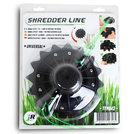 Tête fil nylon multifonction Mulshing Shredder Line TFN042 JR