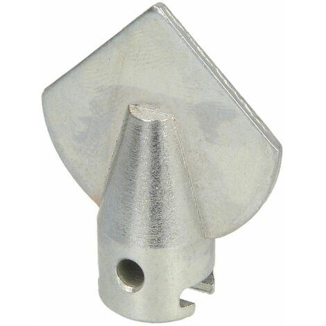 Tête lame flèche 16 mm x diamètre 35 mm pour tuyau 50 - 75 mm