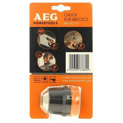 Tete mandrin 10mm bbs12c2-ck pour Perceuse A.e.g