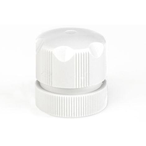 Tête manuelle simple pour radiateur intégré