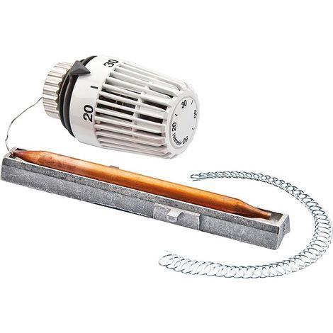 Doigt de gant pour thermostat chauffage en laiton chromé
