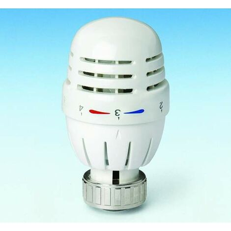 Tête thermostatique avec capteur de cire Pettinaroli 106CN | blanc